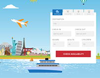 Travel Landing Page form