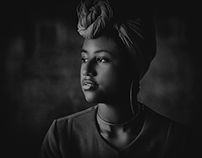 Releitura fotográfica Artista da Mulher Negra.