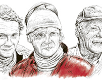 Infografía Niki Lauda