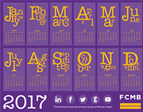 Proposed FCMB Calendar & Christmas Cards
