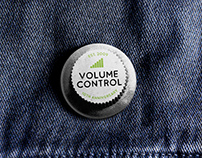 Volume Control Badge