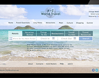 Redesign of A to Z World Travel