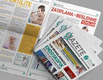 Emek Hastanesi Gazete Tasarımı