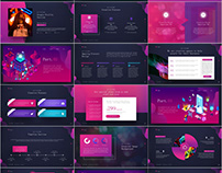 Red Web Design PowerPoint templates download