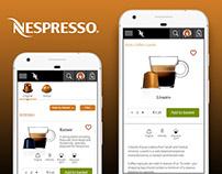 UI/UX Study - Nespresso Website