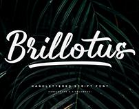 Brillotus-Handlettered Font FREE