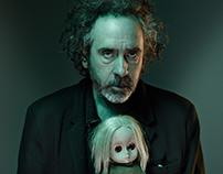 Tim Burton | Concept of portfolio website