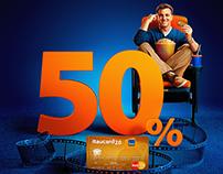 50% Itaucard