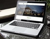 Real Estate Web Template Design