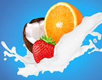 Главный экран Milk 2.0 (тренировочный проект)