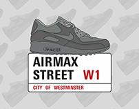 'Airmax Street' Sign