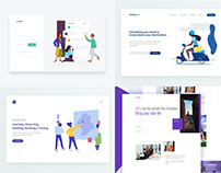 Top 4 Shots from dribbble 2018