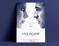 Documentary movie poster - Ingmar Bergman & Liv Ullman