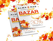 Flyer for Alma & Ras Company