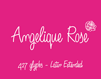 Angelique Rose -font-