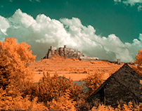 Spis castle infrared goldie