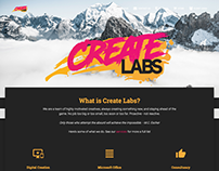 Create Labs branding/website