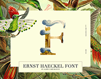 || Ernst Haeckel Font || by shiraz & daryan