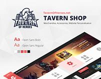 TavernOfHeroes Shop
