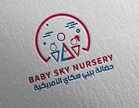 Baby Sky Nursery Branding