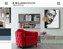 Class Interior - web site
