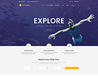 TP Travisa- Travel and Explore- Free PSD Template