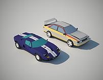 Geometrical-styled Cars