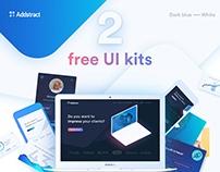 Addstract | Free UI kit