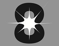 The eight gallery // création logo