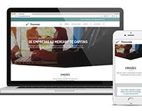 Responsive Website - Grupo Travessia - Financial Market