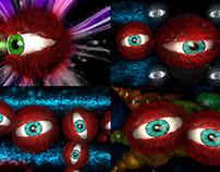 Madness Eye - VJ Loop Pack (6in1)