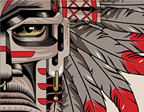 Kiowa American indian