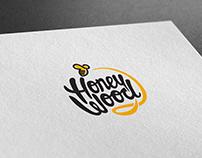 """Логотип """"Honey Wood"""""""