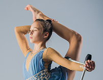 Portrait of a Rhythmic Gymnast / Part 3