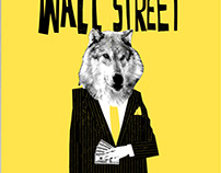 The Wolf of Wall Street Cover Design