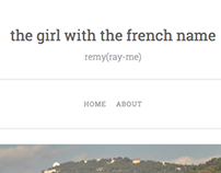 the girl with the french name