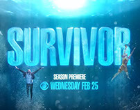 Survivor 30 | On-Air Promotions Brand Package