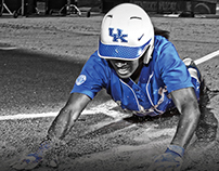 2016 Kentucky Softball Program Covers