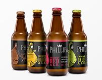 Rótulo para cervejas artesanais Phillipa