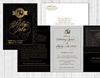 PPCC 50th Anniversary Gala Branding