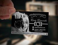 Cartão de visitas Ateliê de fotografia Rosa Rizardo