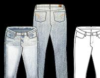 Technical Flats +Floats + Specs | AE Skinny Jean
