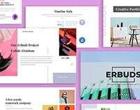 Erbuds - Creative Business Presentation Template