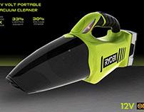 Ryobi Cordless Hand Vacuum Concept