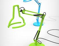 Desk Led Lamp 'Postmodern'