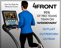 Woodway Treadmill Promo Posters