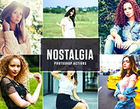 Free Nostalgia Photoshop Actions