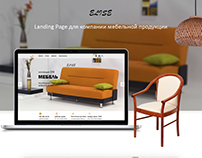 Furniture store. Landing Page