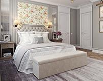 Bedroom Rendering for an Elegant Interior