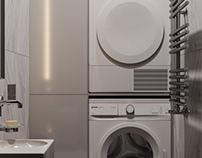 Toilet/Laundry room